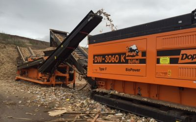 Exciting wood waste recycling news from EMS Waste Services and Bay Skips