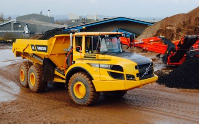 WHEN VOLVO PAID A VISIT TO EMS WASTE SERVICES