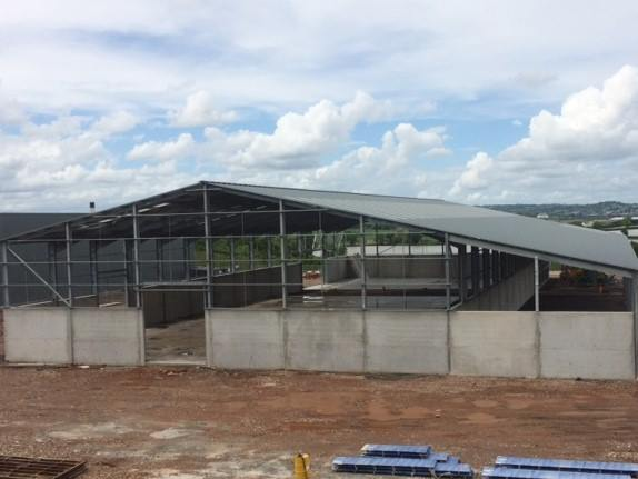 New Waste Transfer Centre coming along nicely!